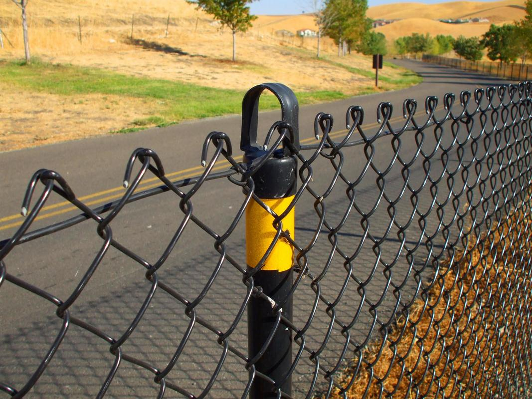 This is a picture of a chain-link fence.
